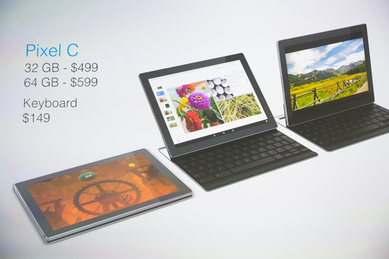 Pixel C price and release