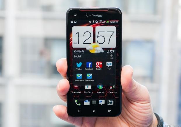 HTC's Droid DNA.