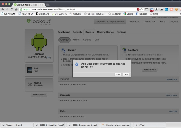 How to remotely lock and wipe a lost Android phone 5