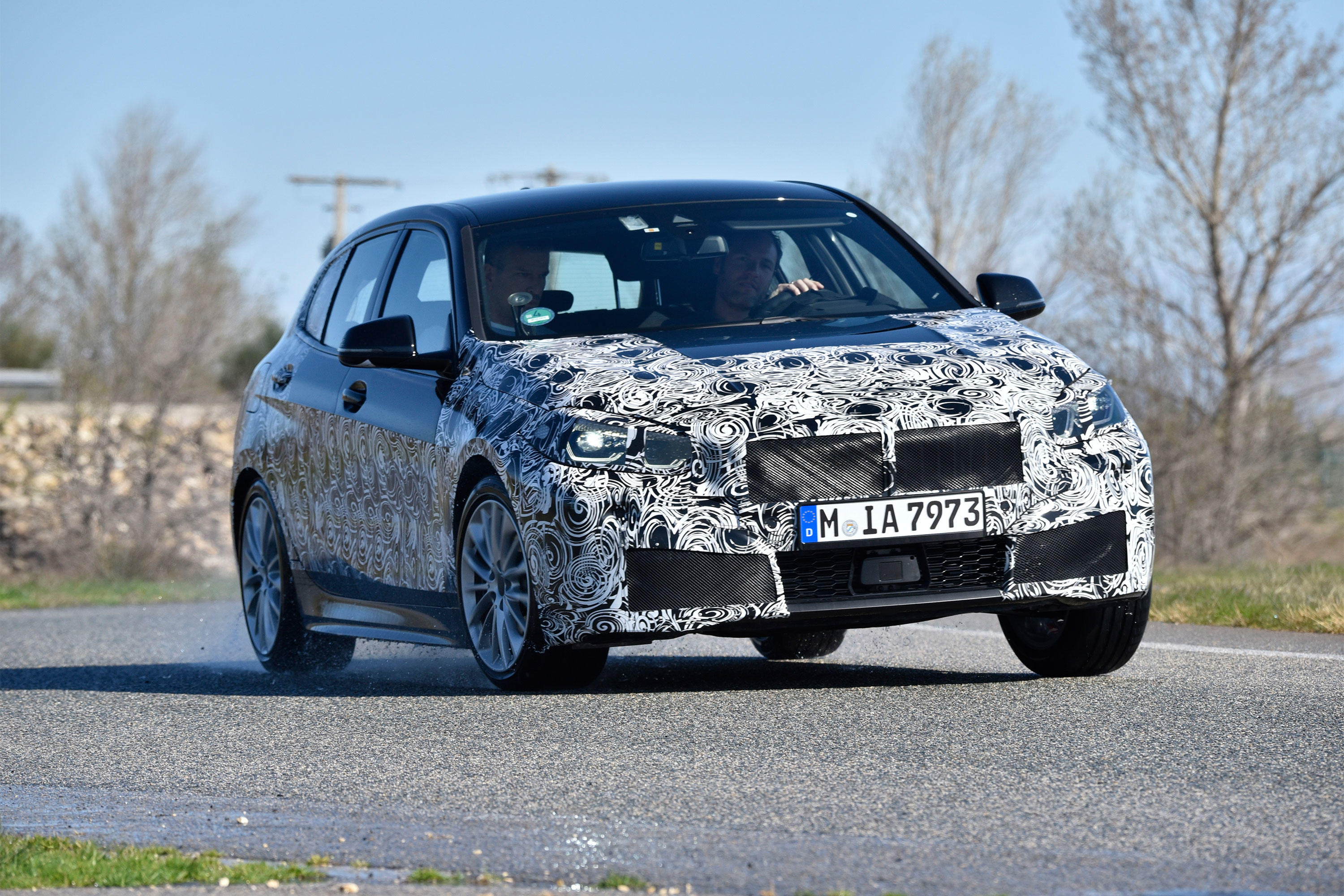 BMW 1 Series prototype