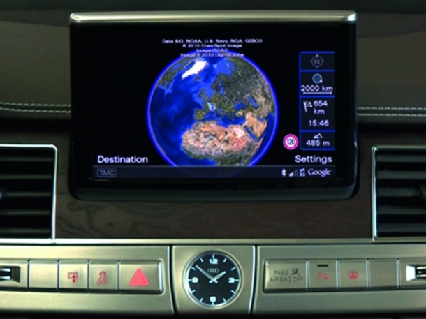Audi's electric plug-in A1 e-tron will use the same infotainment package offered in the A8