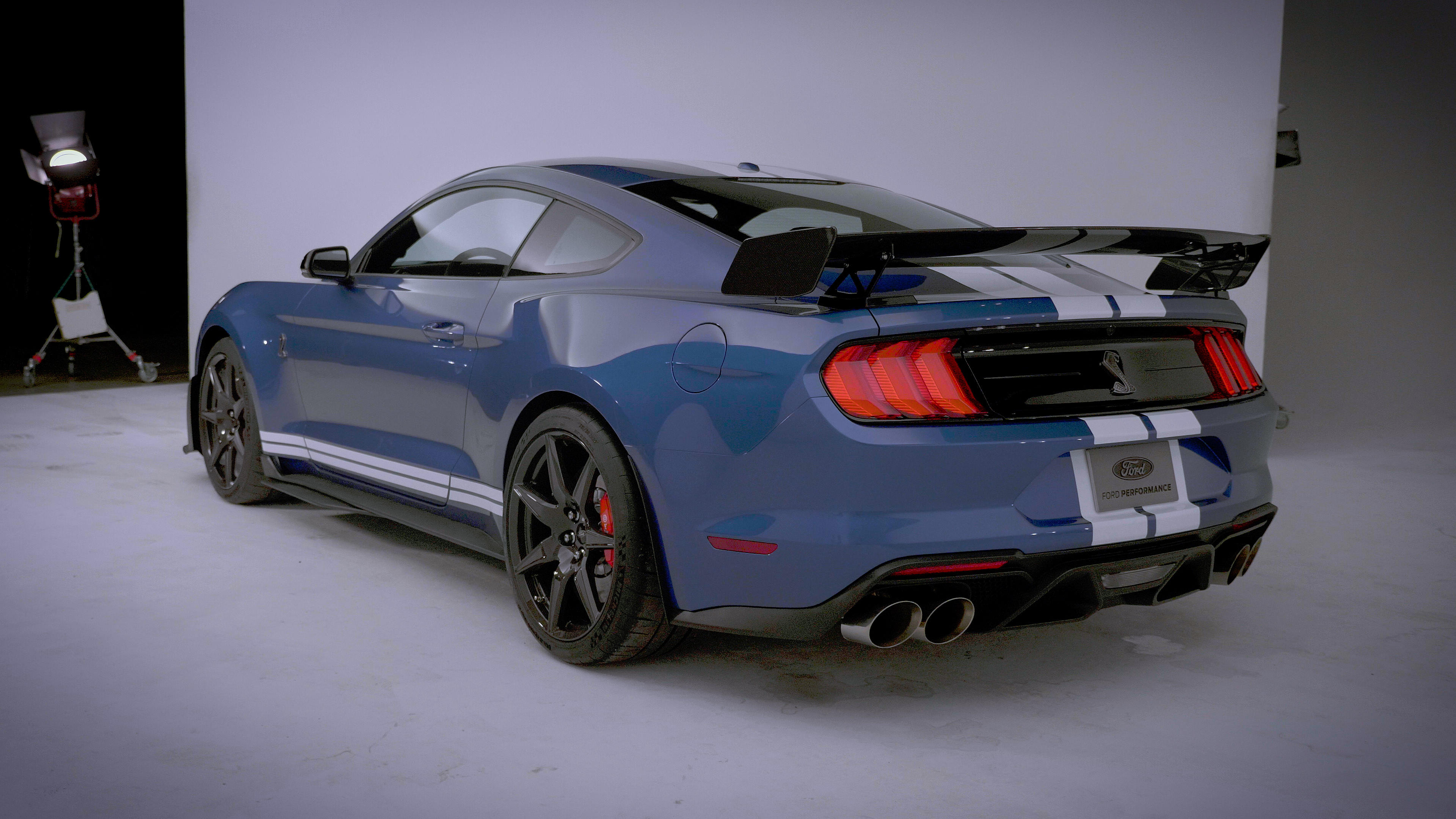 2020 Ford Mustang Shelby GT500 rear end
