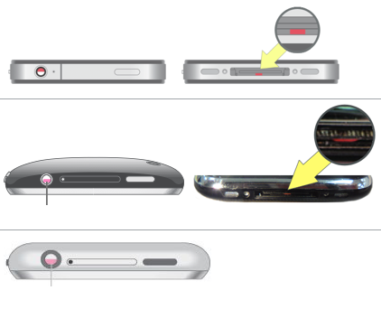 iPhone water damage patches