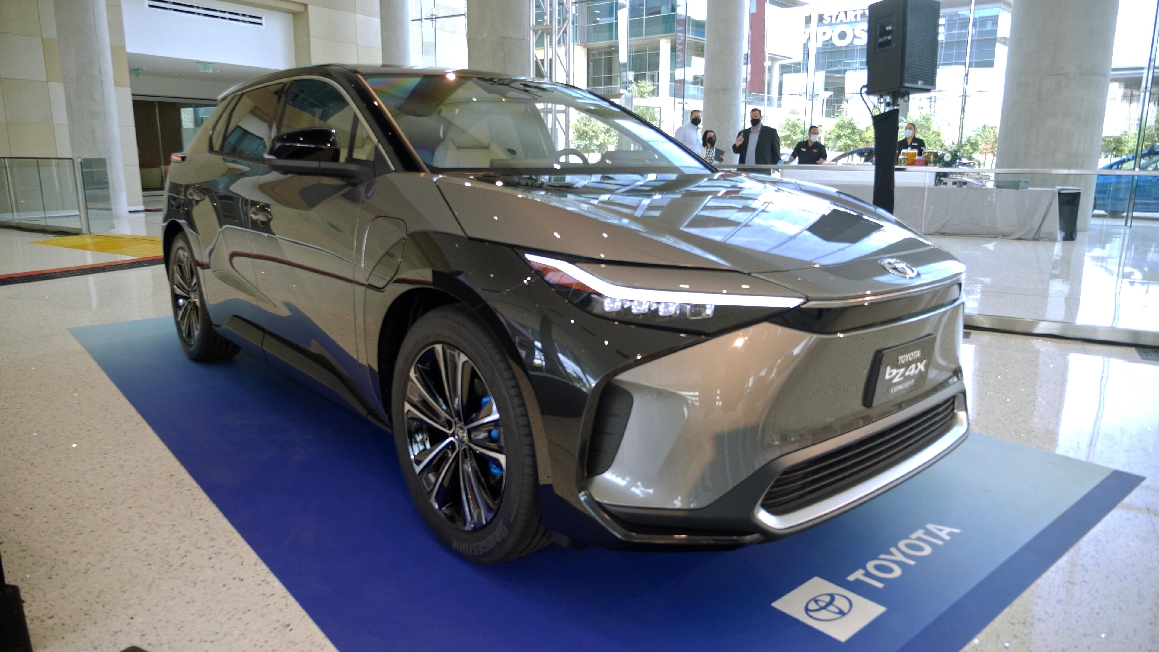 Video: Toyota BZ4X Concept has a clunky name and a cool look