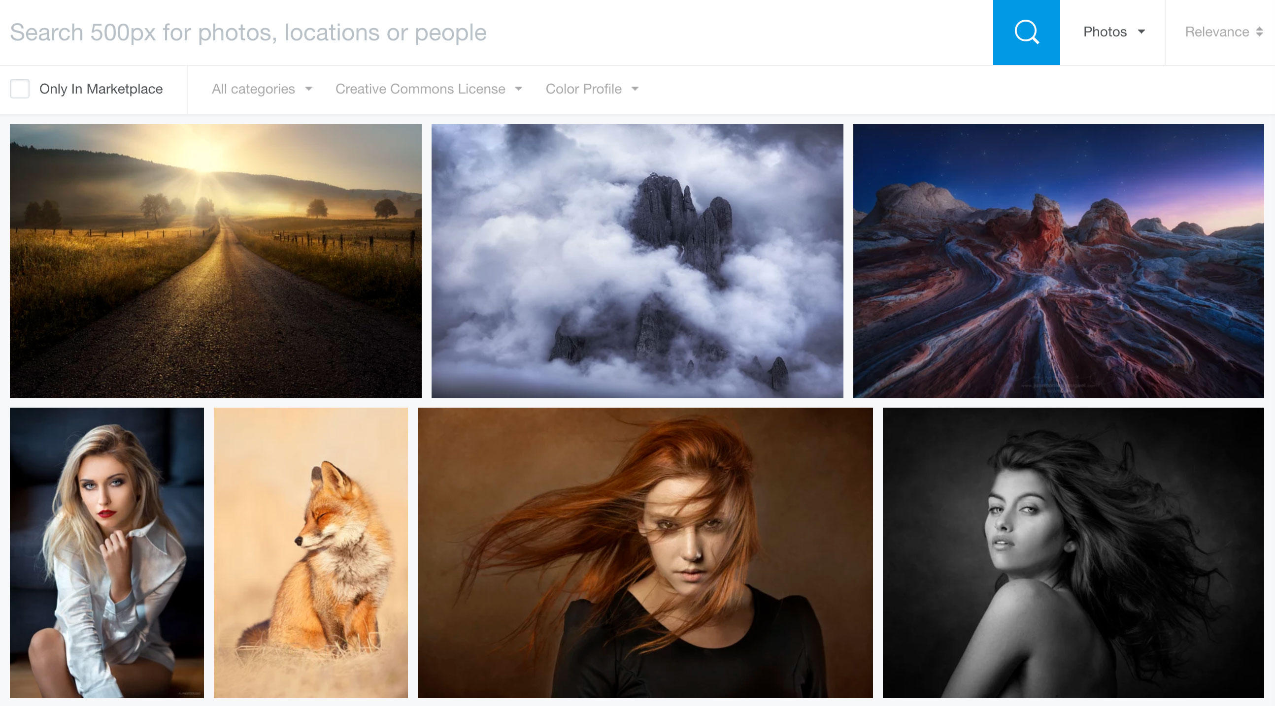 The 500px site for photo sharing and licensing is getting rid of the ability to offer or retrieve images shared under the liberal terms of Creative Commons licenses.