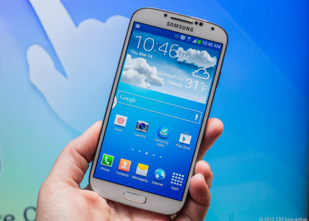 Samsung's Galaxy S4 has been approved for government use.