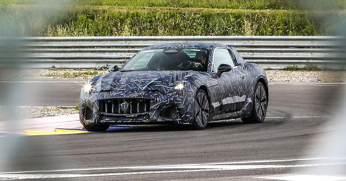 2022 Maserati GranTurismo teases for the first time