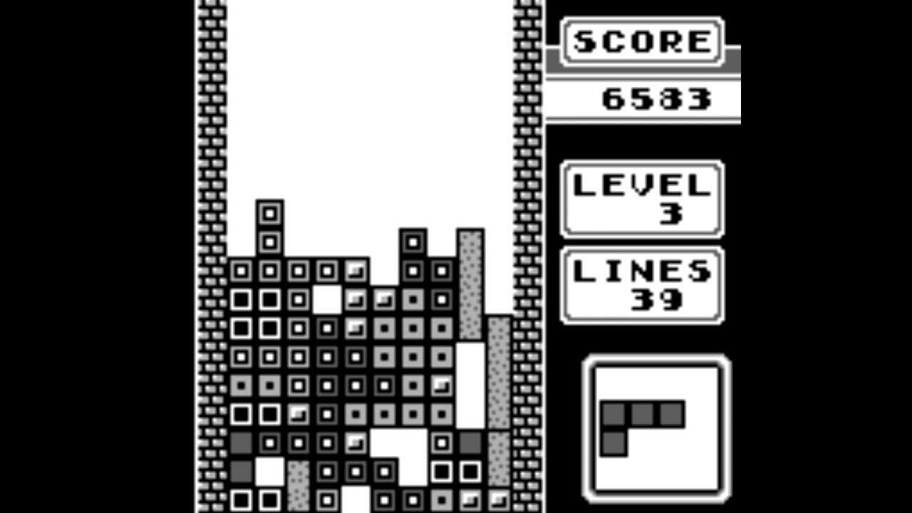 Top-selling Game Boy game: Tetris