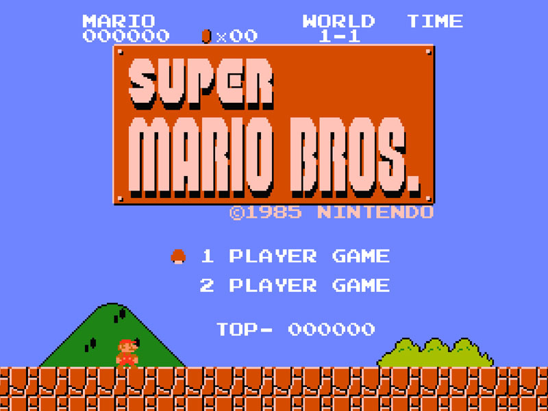 Top-selling NES game: Super Mario Bros.