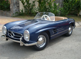 Pocket Classics' half-scale Mercedes-Benz 300 SL would look great parked under my Christmas tree.