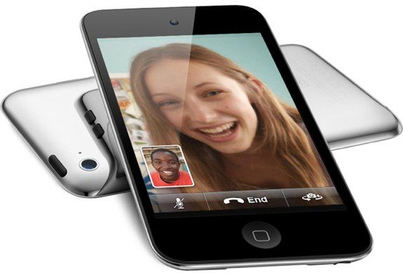 The fourth-gen iPod Touch can handle FaceTime thanks to its dual cameras.