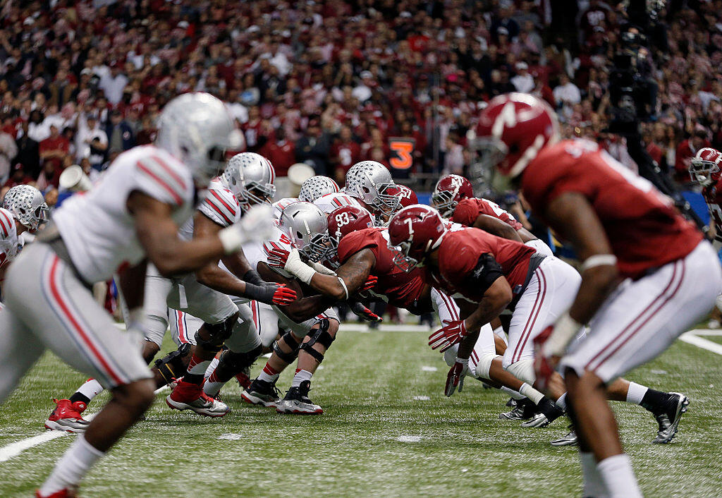 <p>Ohio State and Alabama will meet on Monday night for the national championship. The two teams last met in 2015 when the Buckeyes upset the heavily favored Crimson Tide in the semifinals on their way to a national title in the first college football playoff.</p>