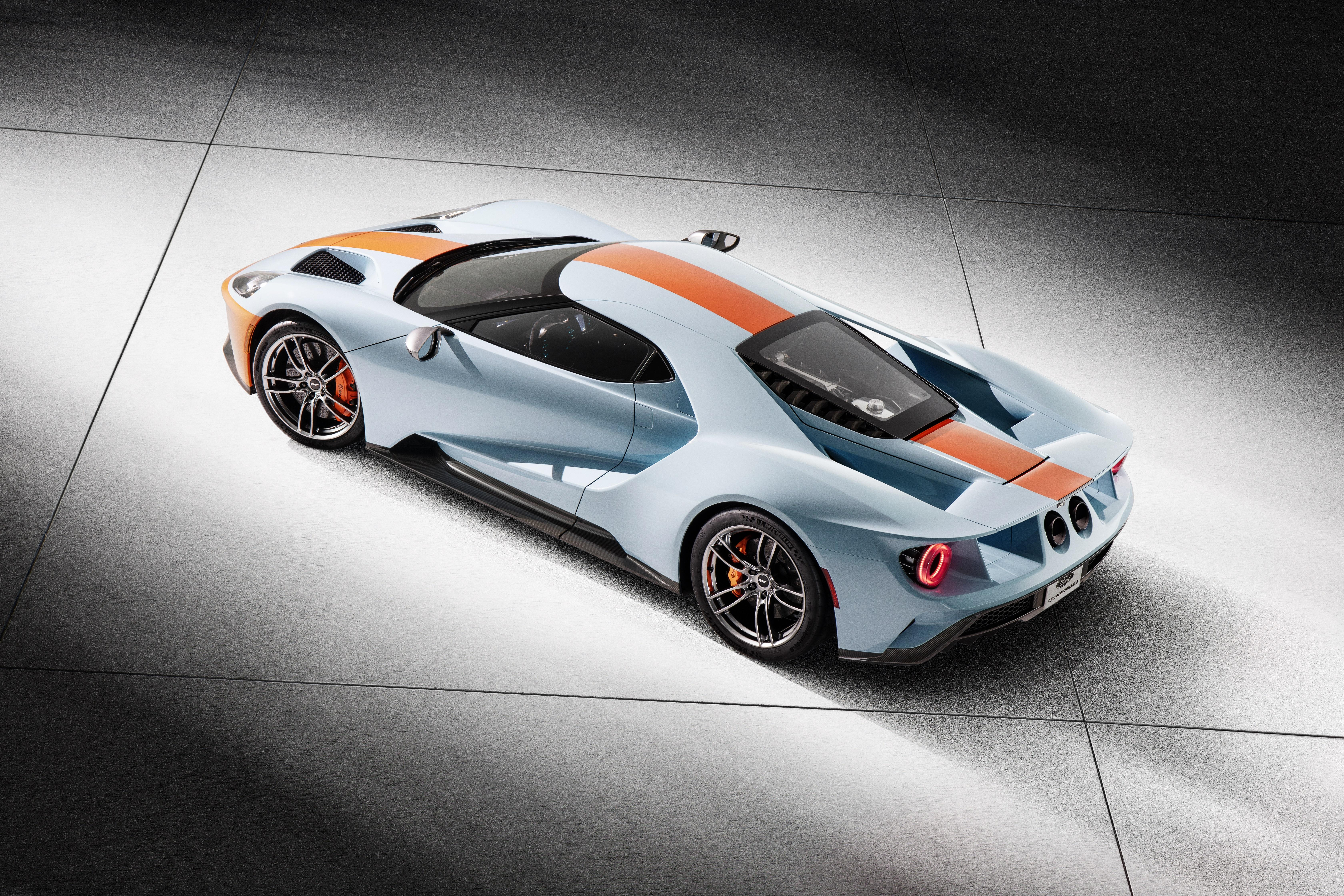 2019 Ford GT Gulf Heritage edition livery