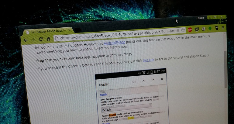 How to enable Reader Mode in Chrome for Windows   CNET