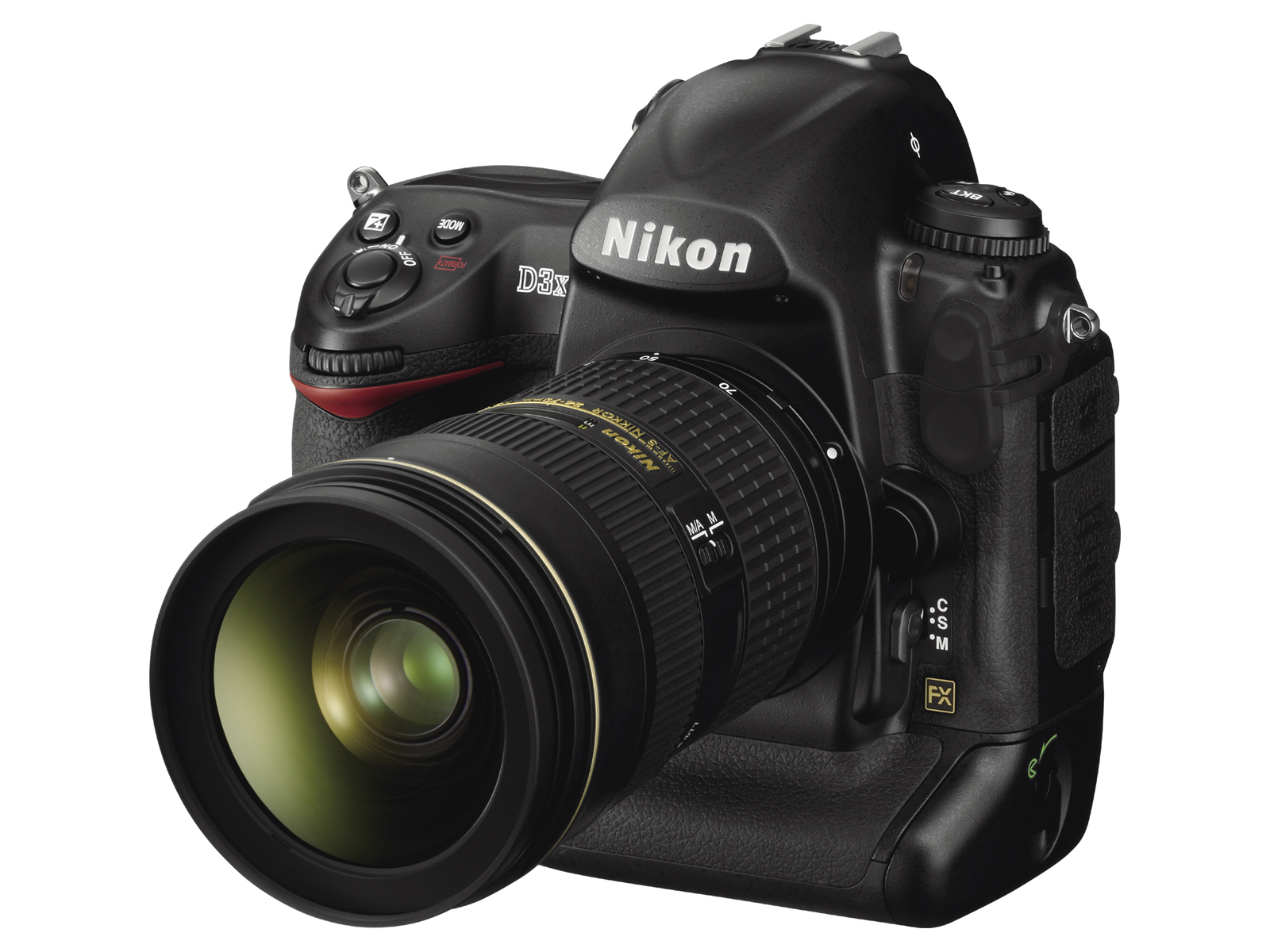 The Nikon D3X is identical to the D3.