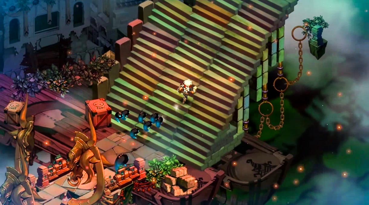"""Warner Bros. game """"Bastion"""" is available on Chrome through use of Google's Native Client technology."""