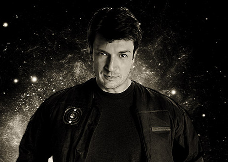 """Nathan Fillion in """"Con Man"""""""