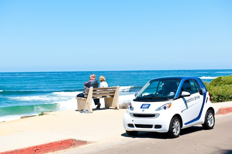 Car2Go is bringing its car sharing service to San Diego, but it is doing it without gas.