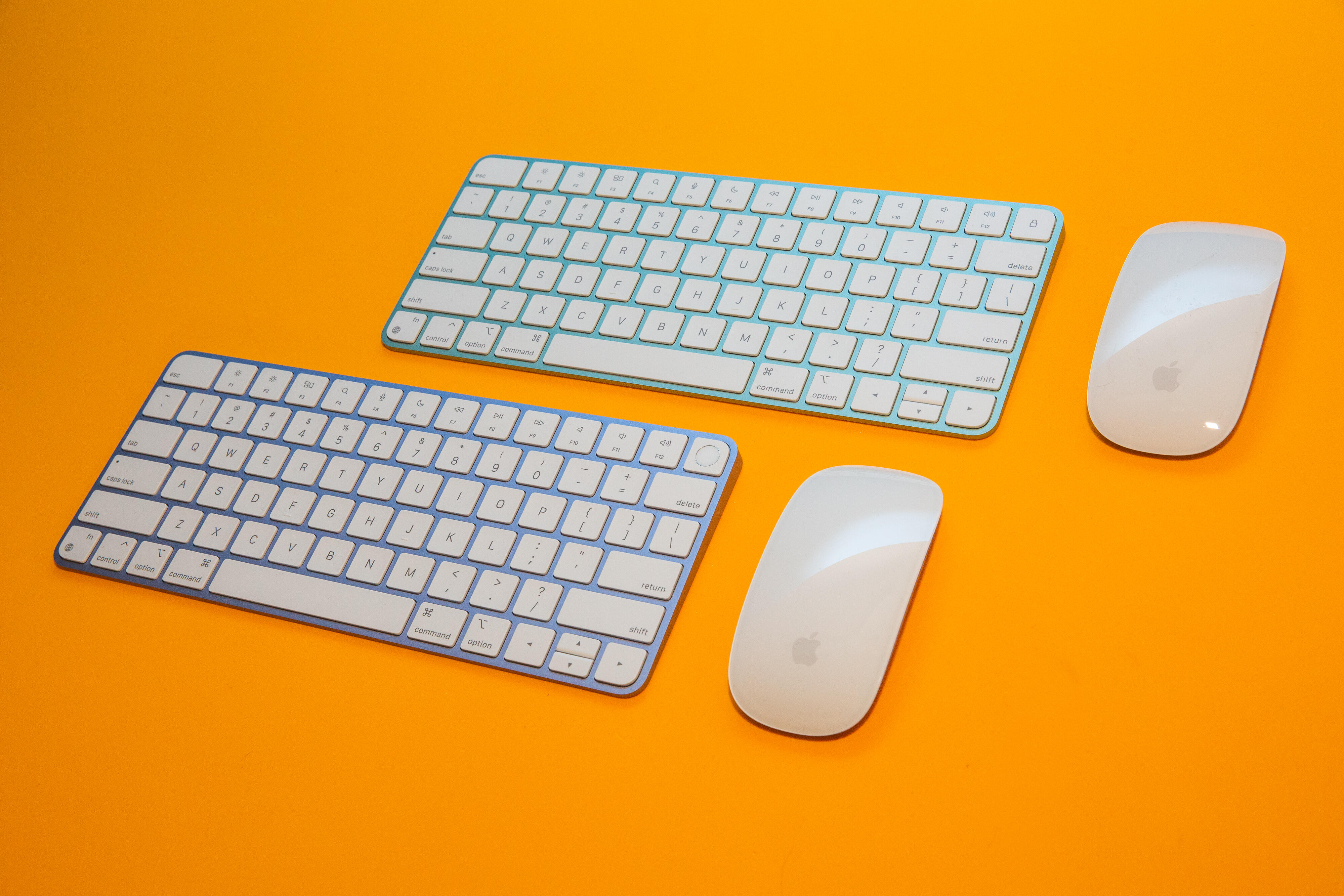 iMac 2021 colors with M1