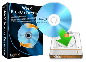 WinX Blu-ray Decrypter can copy Blu-ray movies to your hard drive.