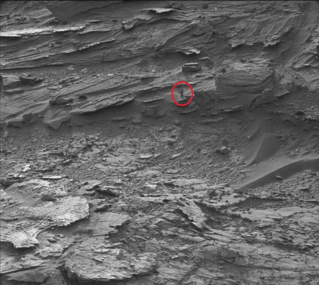 Another woman on Mars
