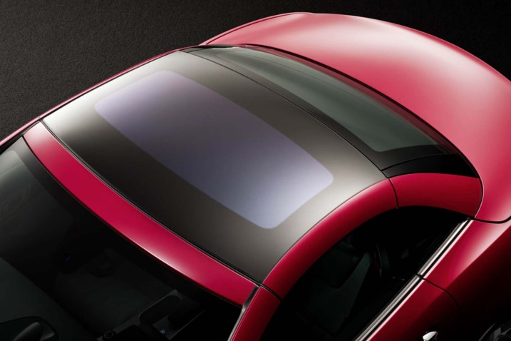 The 2012 Mercedes SLK's hardtop will have an optional light-blocking technology.