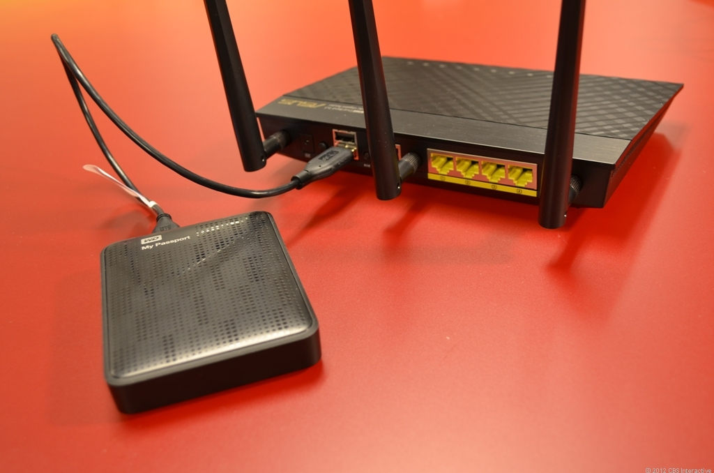 Sometimes, with the right router, a good portable drive is the only other thing you need to have a viable network storage solution.