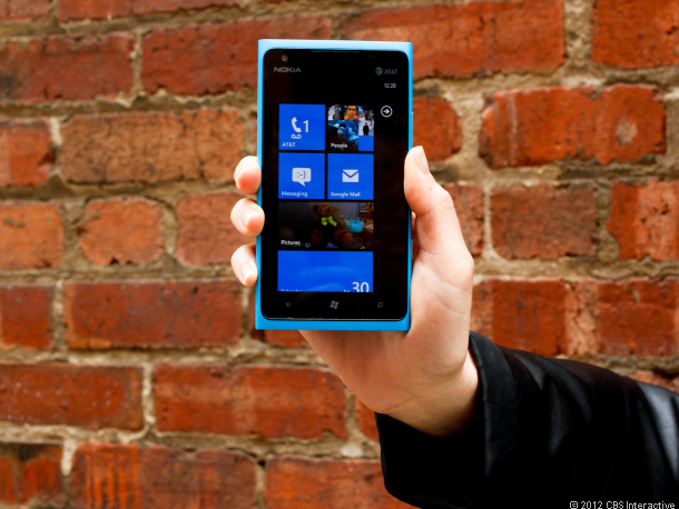 The Lumia 900 is grabbing converts from Apple and Android.