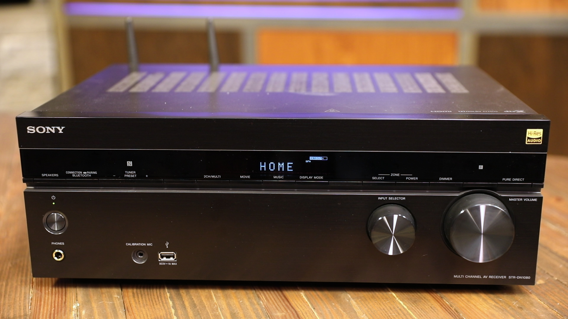 Video: Sony's STR-DN1080 receiver is a knockout