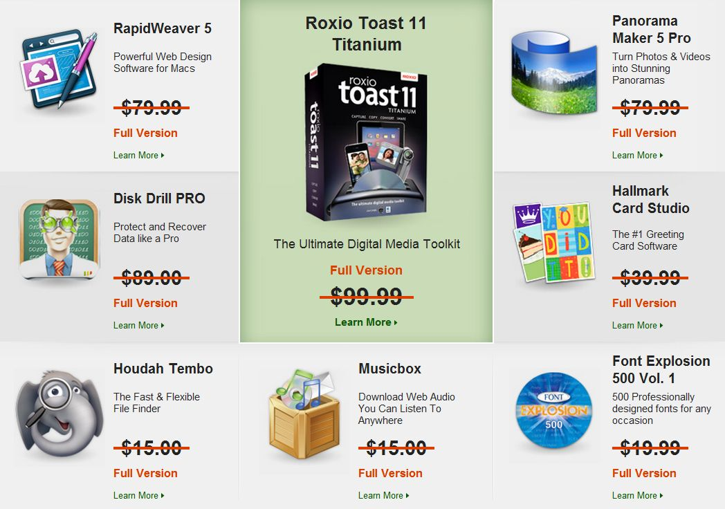 Click for a closer look at some of the titles included in this year's Mac SuperBundle.