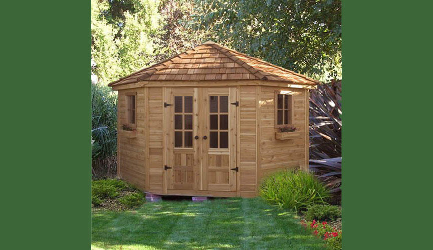This $6,600 shed for your garden
