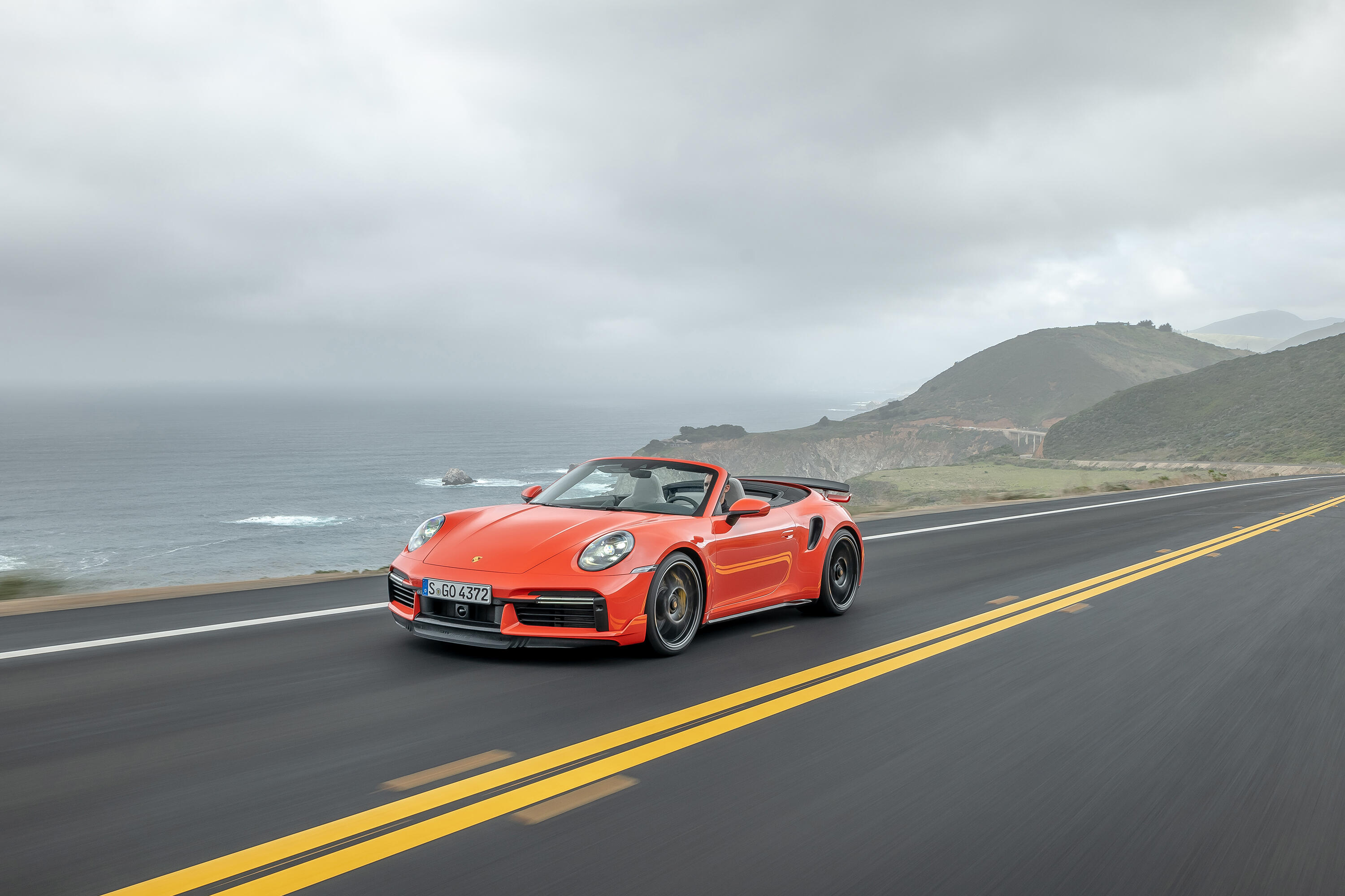 2021 Porsche 911 Turbo S Cabriolet with Sport Design Package