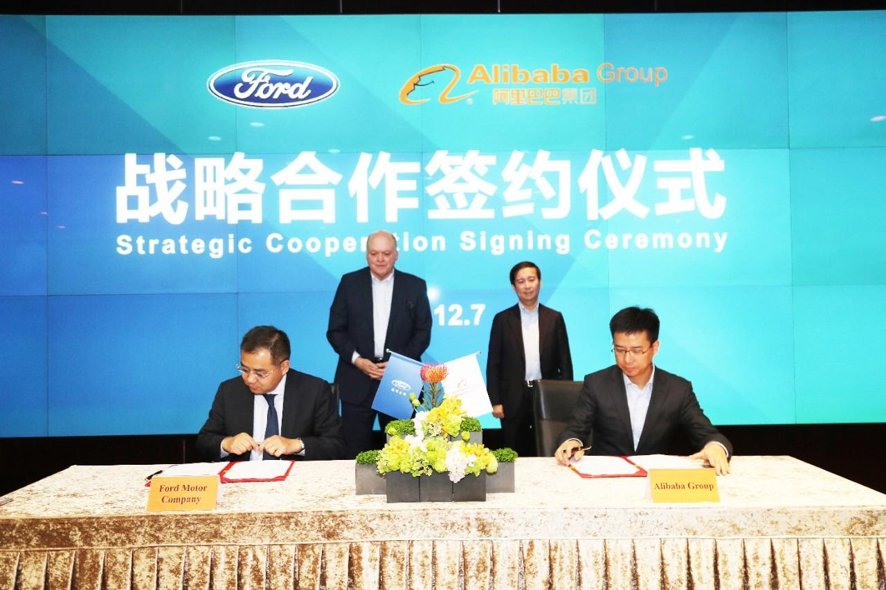 """Ford and Alibaba sign """"strategic cooperation"""" agreement"""