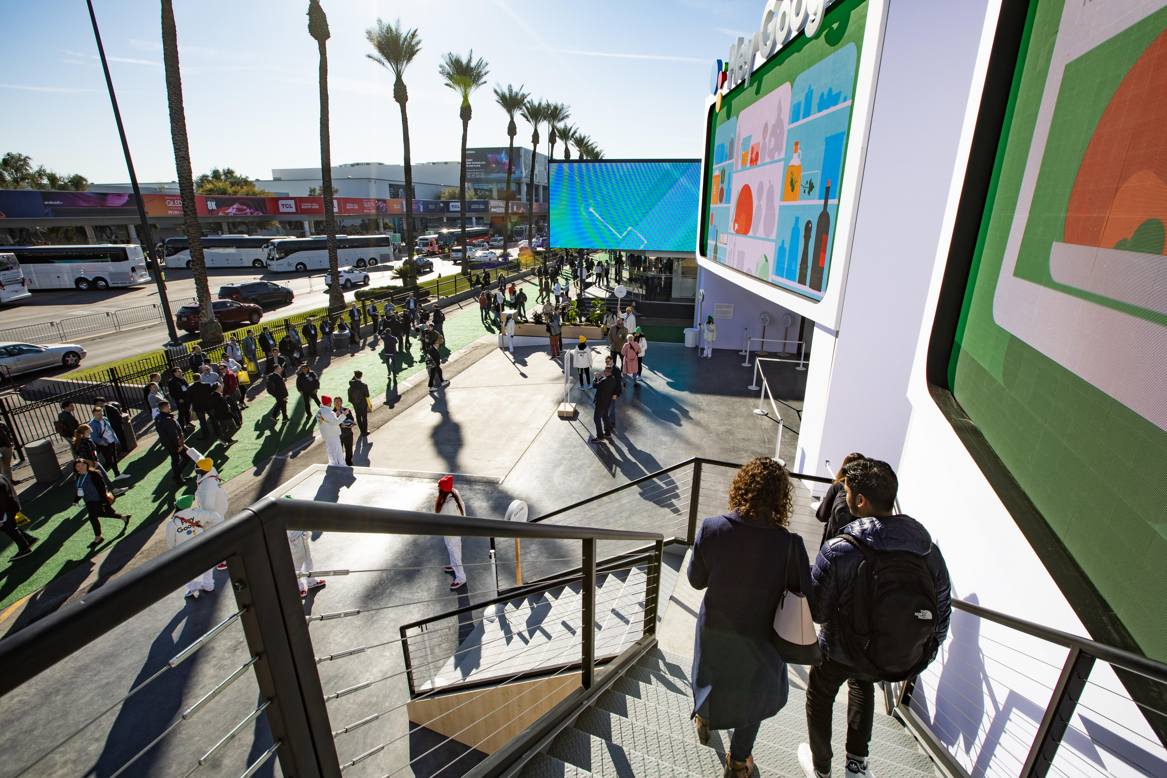 Google Booth CES 2020