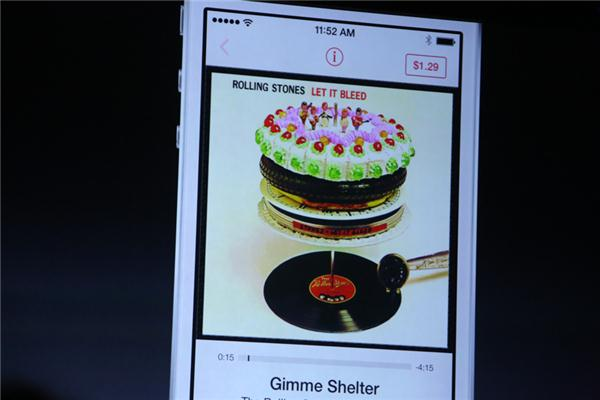 Apple shows off iTunes Radio at WWDC 2013.