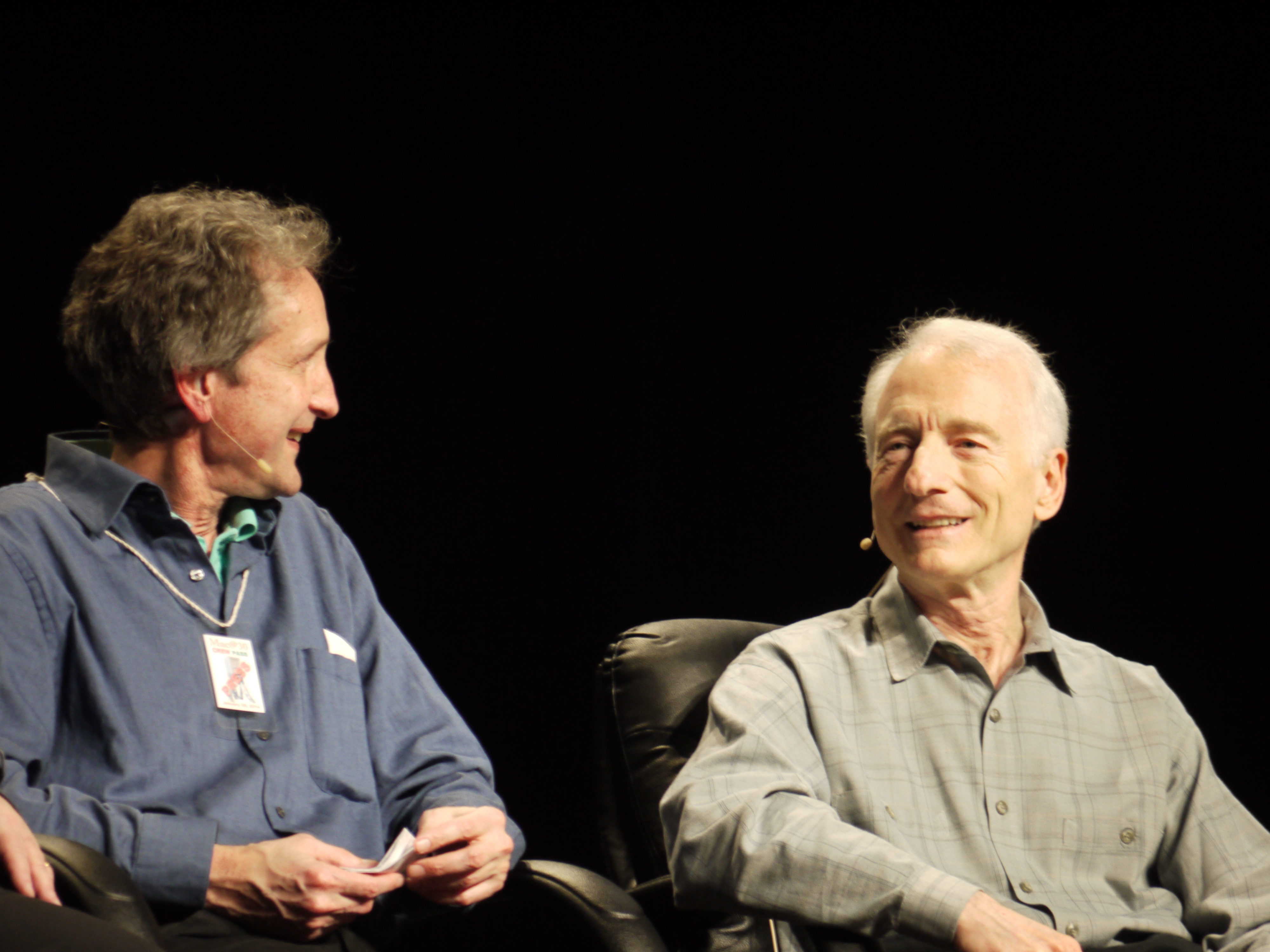 Daniel Kottke and Larry Tesler