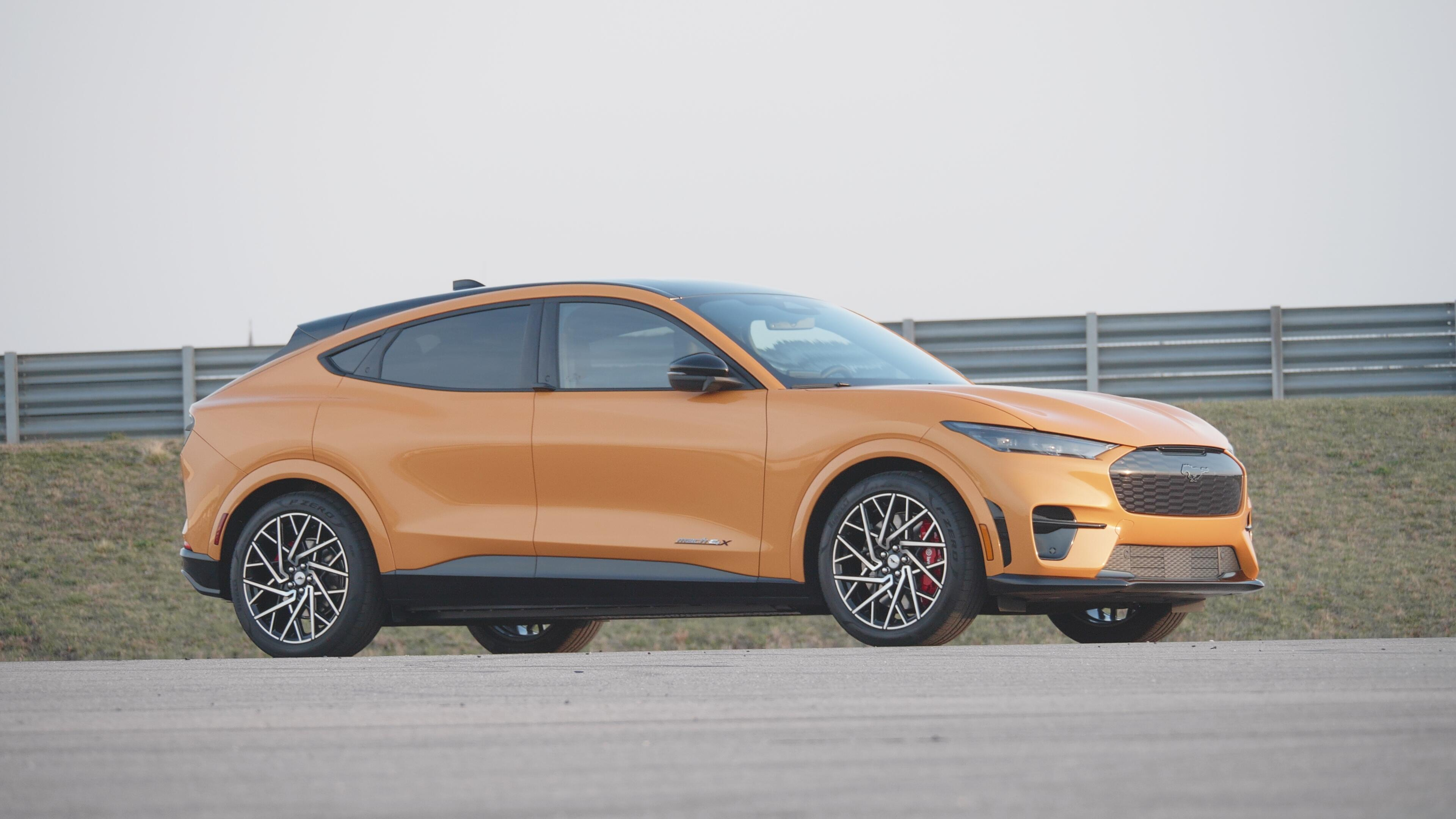2022 Ford Mustang Mach-E GT Performance Edition - Cyber Orange