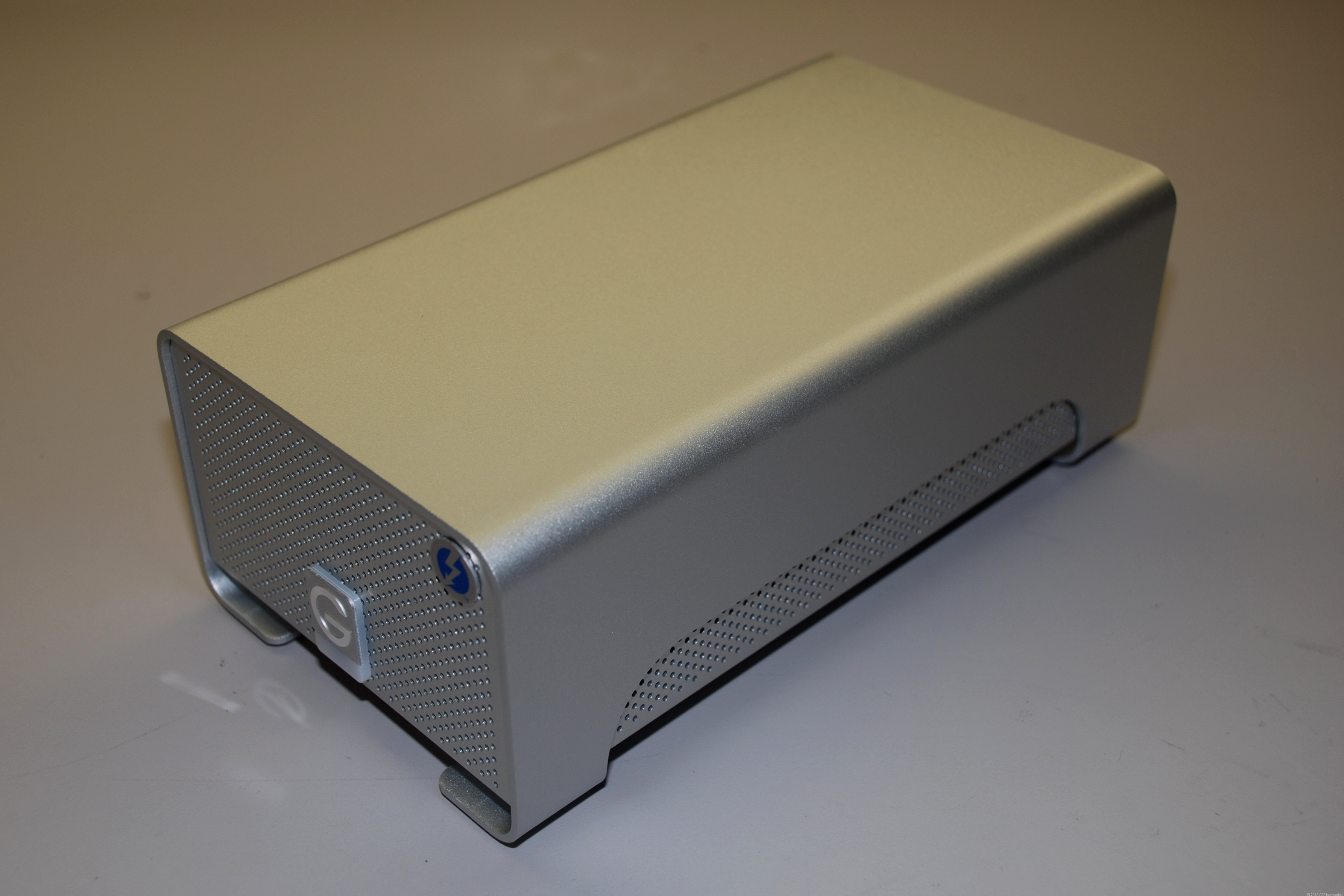 The G-RAID with Thunderbolt drive from G-Technology.
