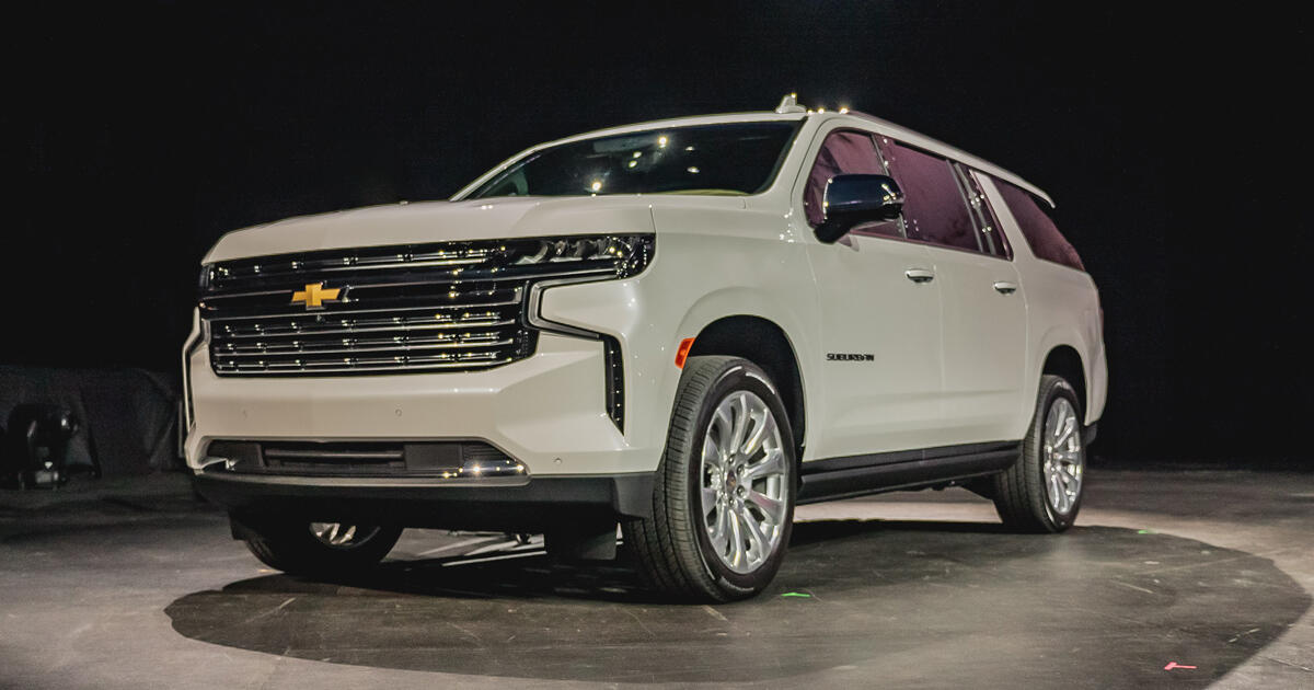 2021 Chevy Suburban Debuts With Optional Diesel Power Roadshow