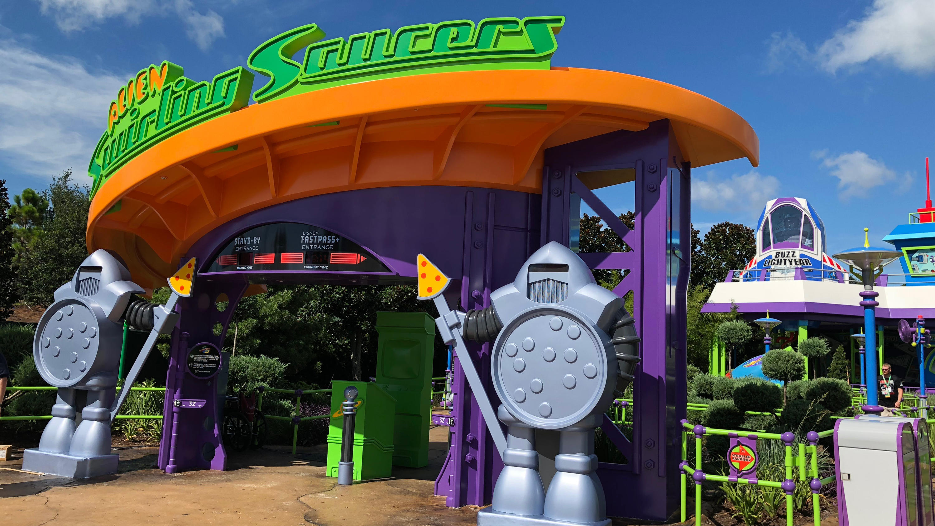 Hidden details of Toy Story Land