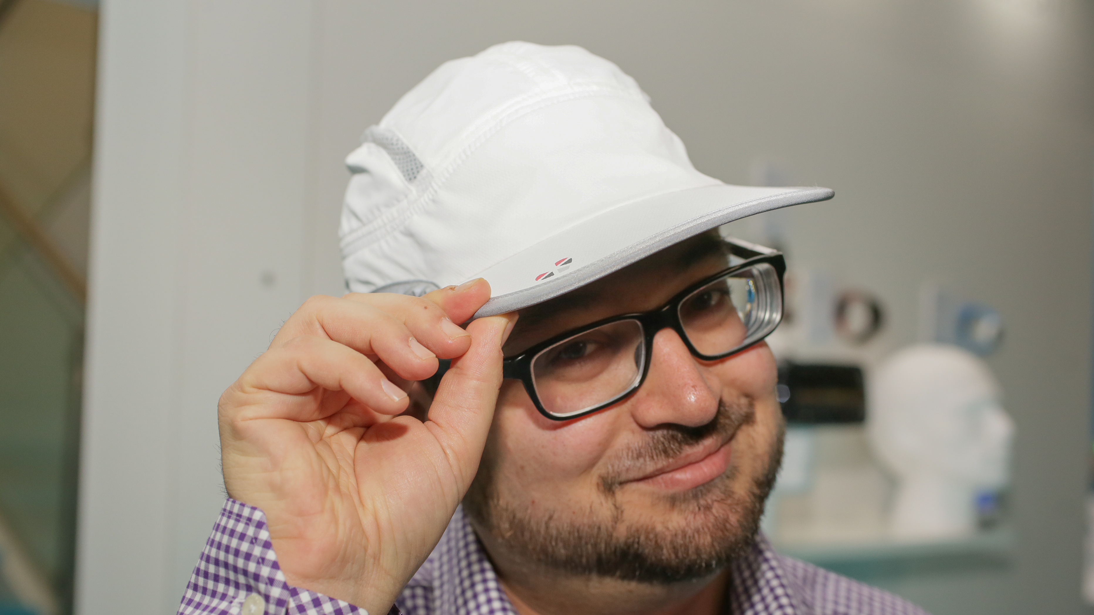 The LifeBEAM Smart Hat