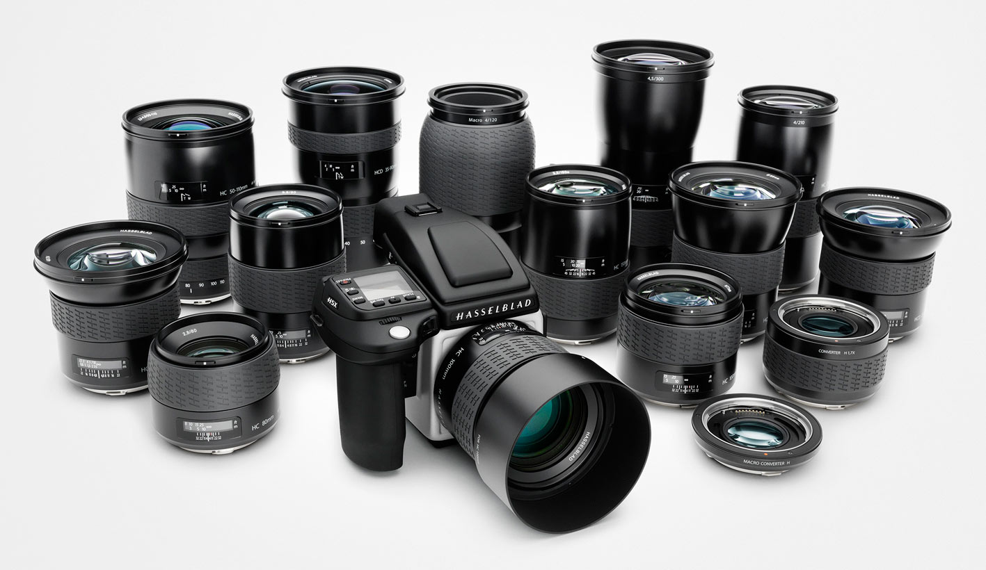 The H5X offers better compatibility with Hasselblad's HC and HCD lens line.