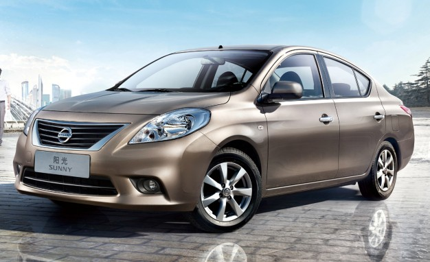 The Nissan Sunny could be rebadged as the Versa sedan in the North American market.