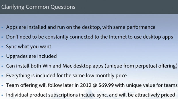 Creative Cloud questions answered