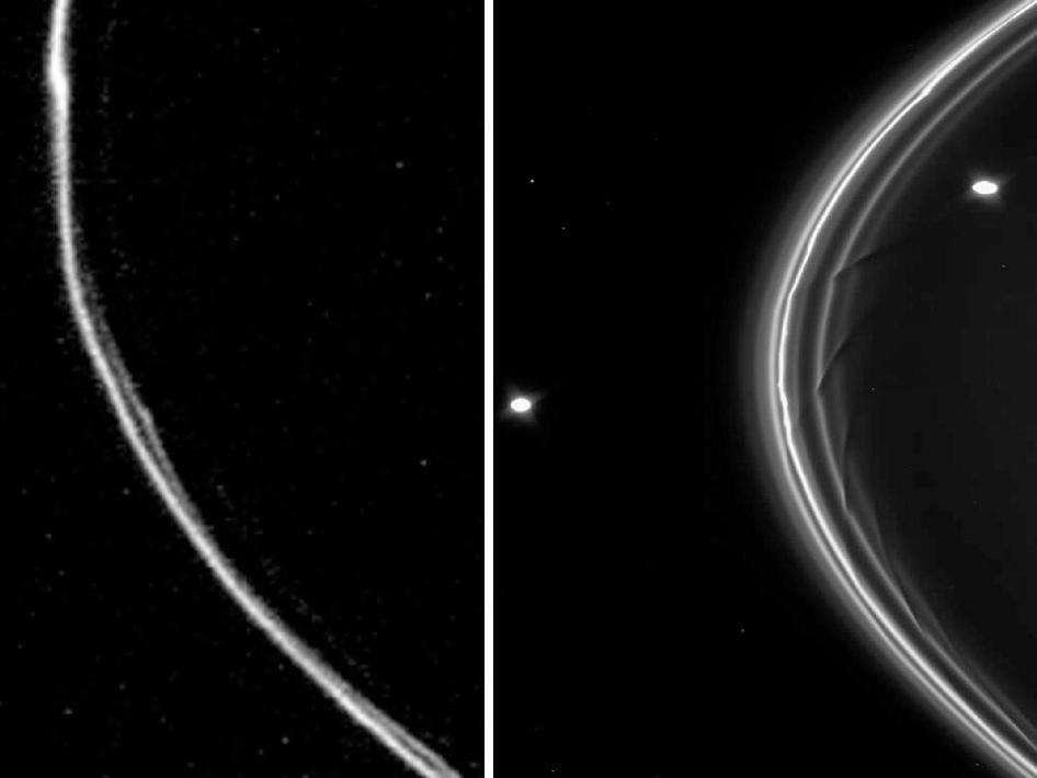 The closest approach to Saturn