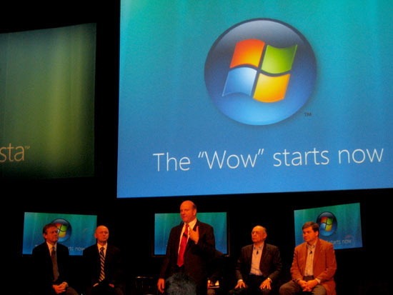 """Vista """"wow"""" is now"""