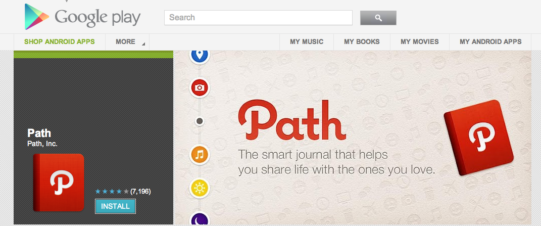 Path and many other apps do photo filtering and sharing on android.