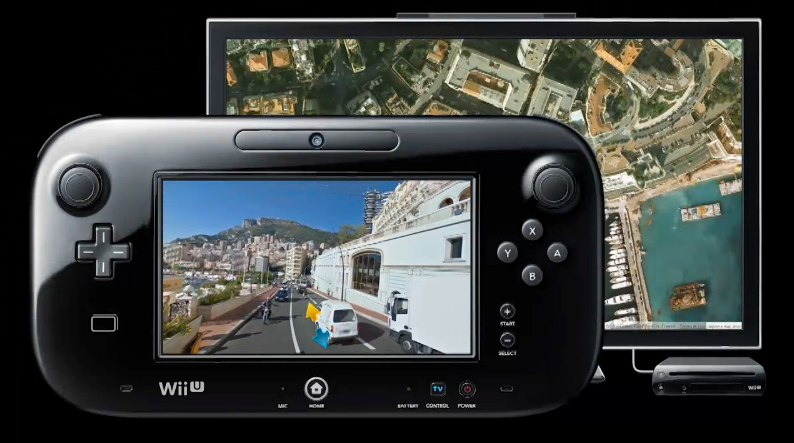 A look at Street View on the Wii U.
