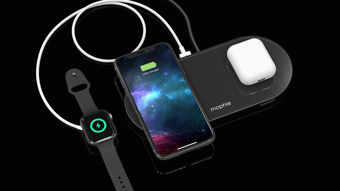 Get a Mophie dual wireless charging pad for 78% off