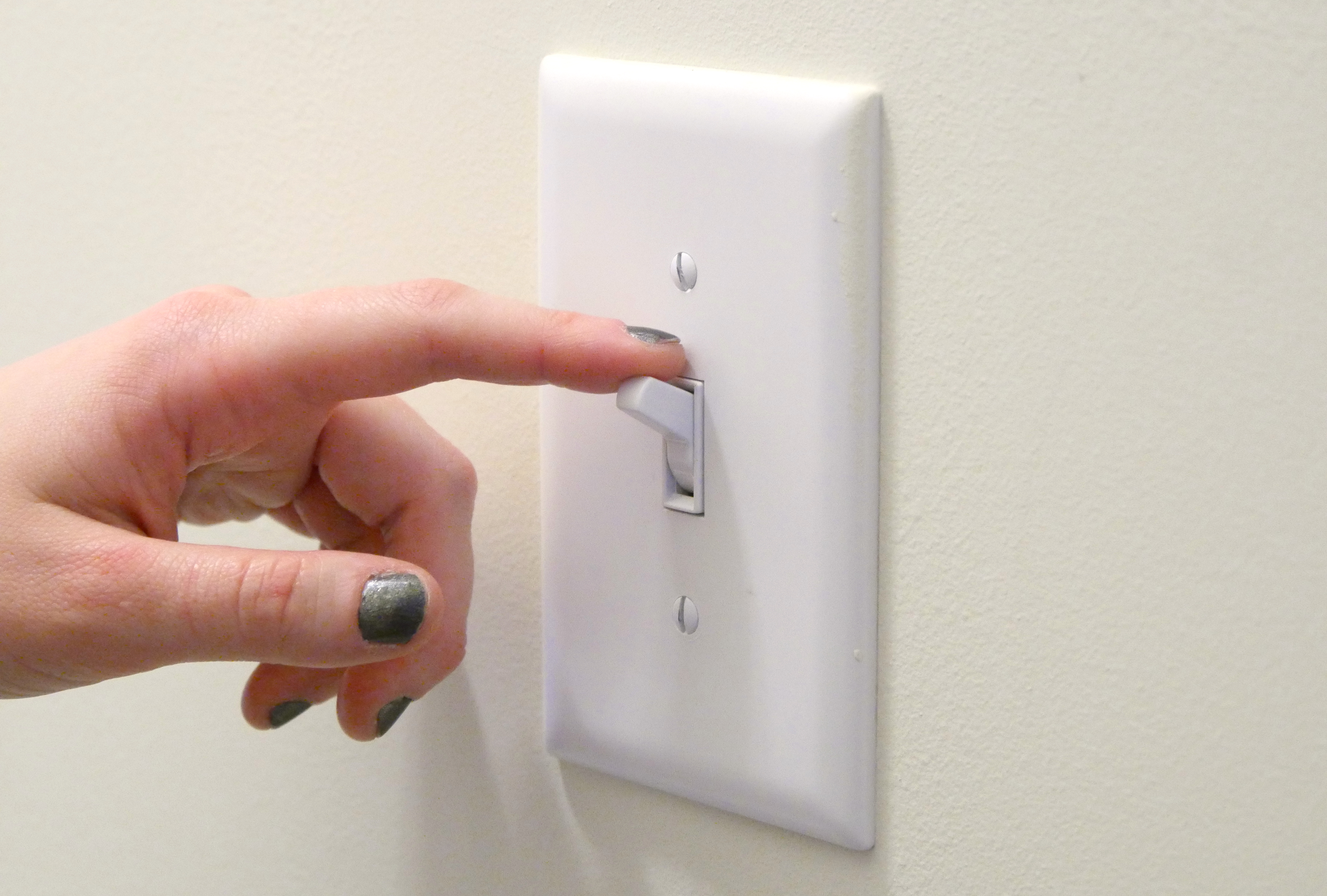 insulate light switches